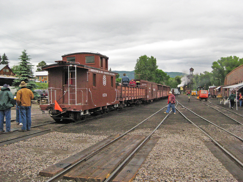 Awaiting Departure, Chama, New Mexico - June 2009
