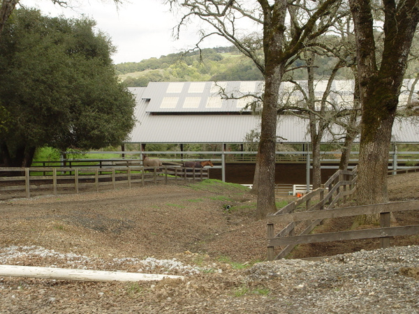 Horse stables by ArizonaLorne