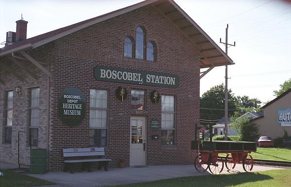 2003 Boscobel Depot Museum   Boscobel, Wisconsin by...