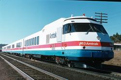 1977 AmtrakTurboTrain in Flagstaff, AZ