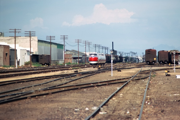 1971 Amtrak Turbo Train: Phoenix-Yuma by ArizonaLorne