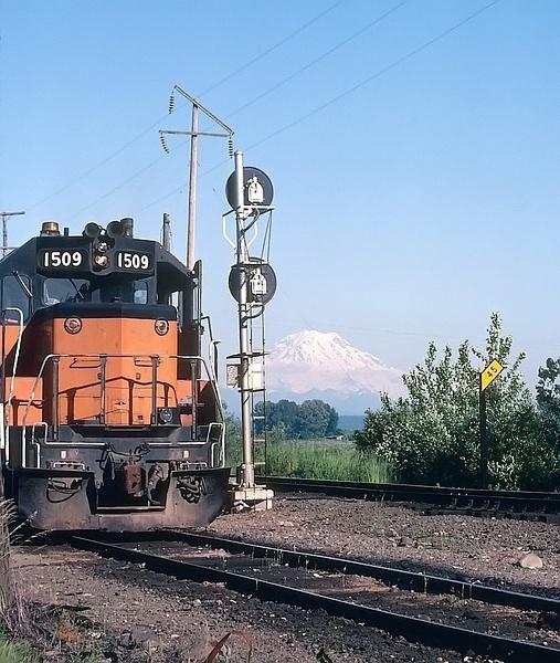 1979 Milwaukee Railroad.... Tidewater Flats Yard... The...