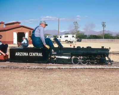 1975 Maricopa Live Steamers  McCormick Stillman RR Park