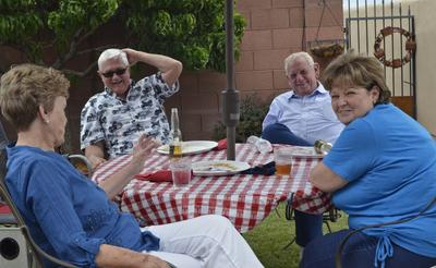 2014 4th of July Pot Luck at Joan and Jerry Michelbrink's