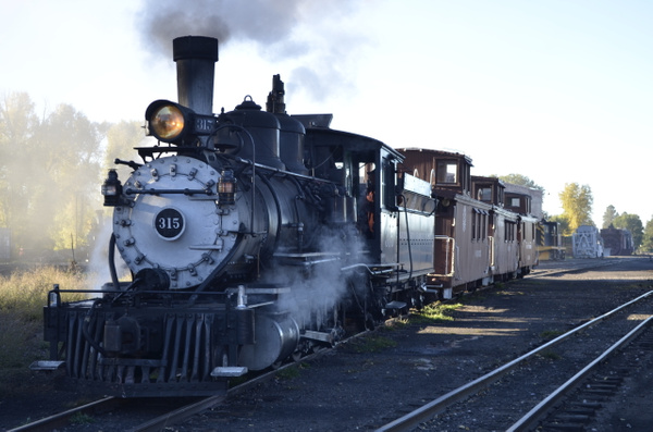 2013-09-26 #315 takes Cattle Cars up the 'Hill' by...