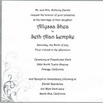 Seth & Allyssa Wedding