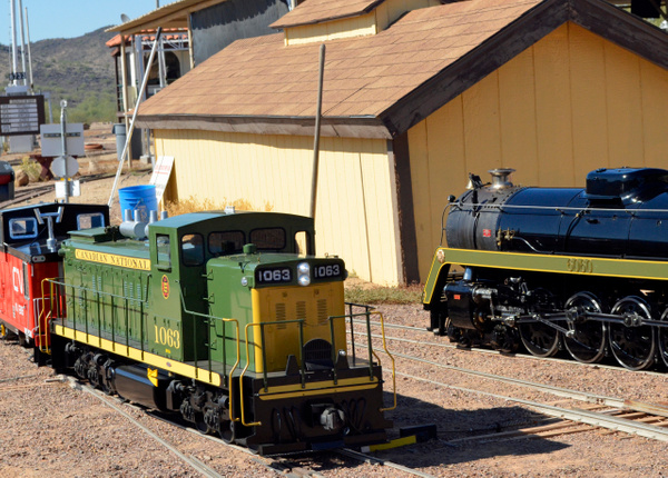 2016 Maricopa Live Steamers Fall Meet by ArizonaLorne