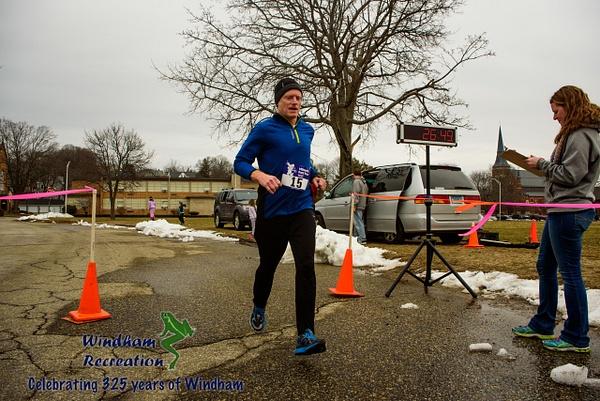 Windham Rec 3.25 miles Celebration run by Brian Horne