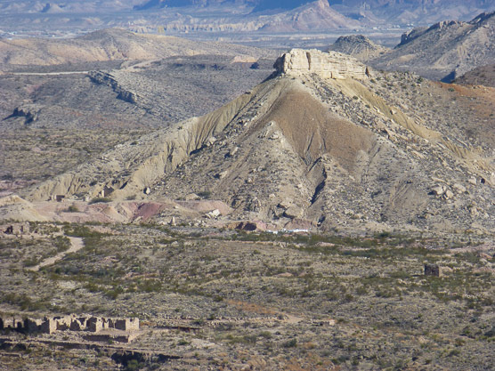 California Mountain from Tres Cuevas