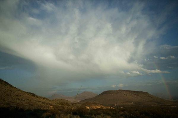 Terlingua Sky-1 by Clyde Replogle