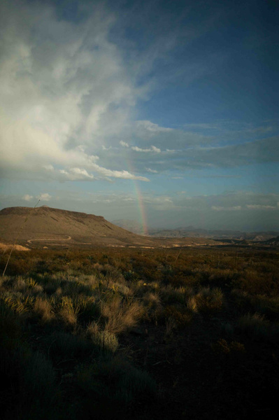Terlingua Sky-2 by Clyde Replogle