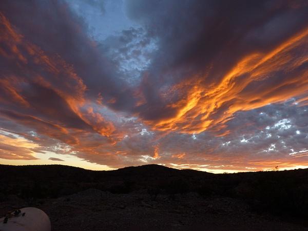 Terlingua Sky-5 by Clyde Replogle