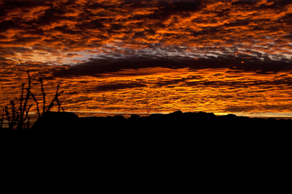 Terlingua Sky-4 by Clyde Replogle