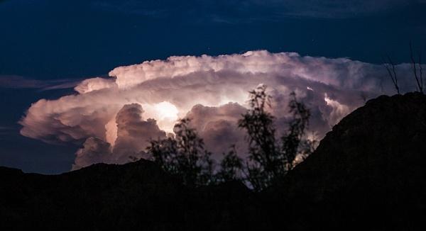 Terlingua Sky-1-2 by Clyde Replogle