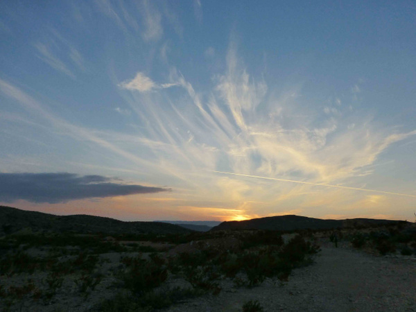 Terlingua Sky-6 by Clyde Replogle