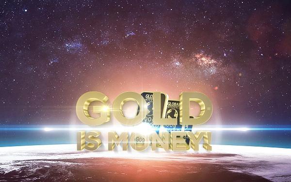 Gold is money (3) by Starkkarllois