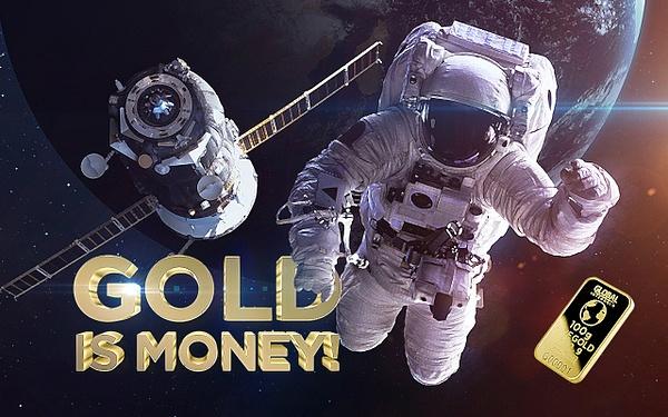 Gold is money (2) by Starkkarllois