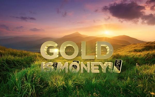 Gold is money (7) by Starkkarllois
