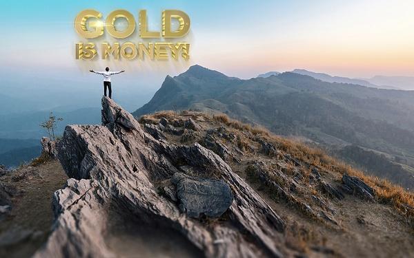 Gold is money (19) by Starkkarllois