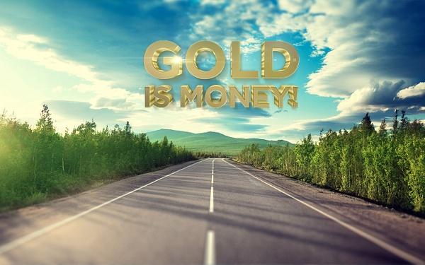 Gold is money (21) by Starkkarllois