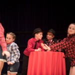 Guys & Dolls first night