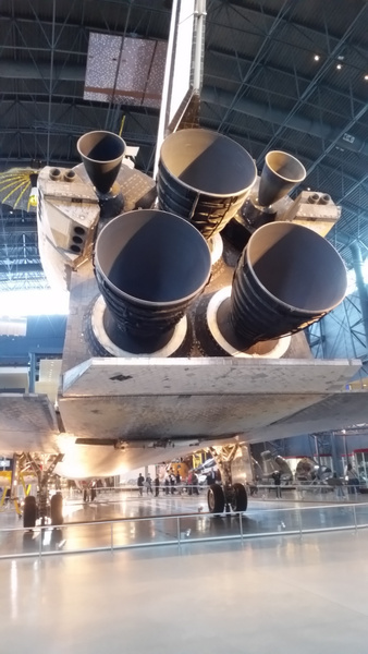 Space Shuttle Discovery (7) by LannyWexler