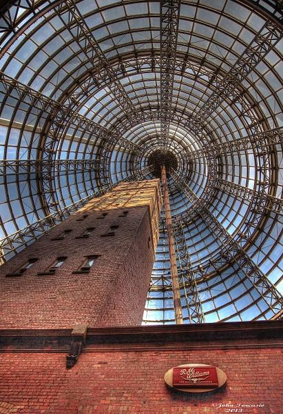 Melbourne GPO Shot tower by John Torcasio
