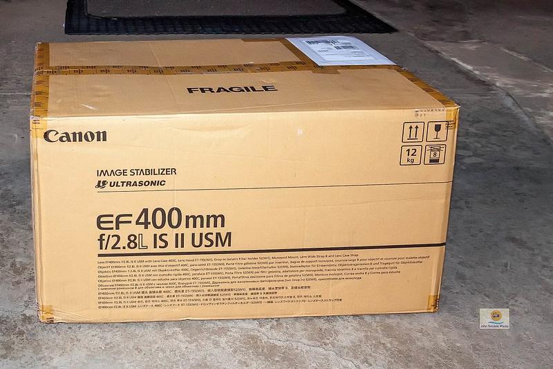 Canon EF 400mm f 2 8L IS II USM Lens