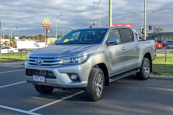 2018 Toyota Hilux by John Torcasio