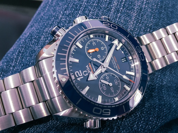 Omega Seamaster Planet Ocean 600M Co-Axial Master Chronograph by John Torcasio