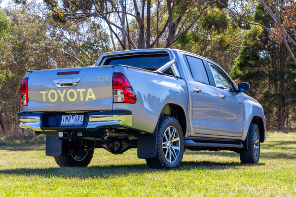 Toyota Hilux SR5 Double Cab by John Torcasio