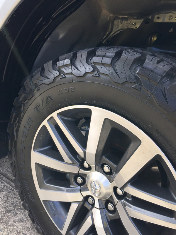 Toyota Hilux: Wheel