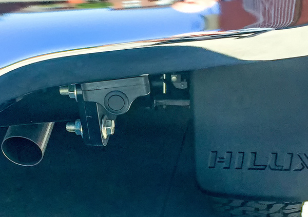 Toyota Hilux rear park assist sensor by John Torcasio