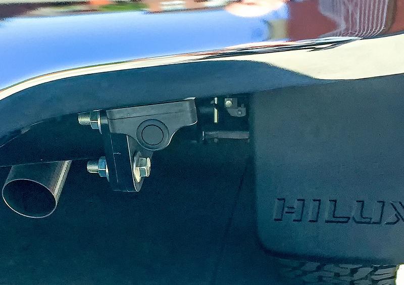 Toyota Hilux rear park assist sensor