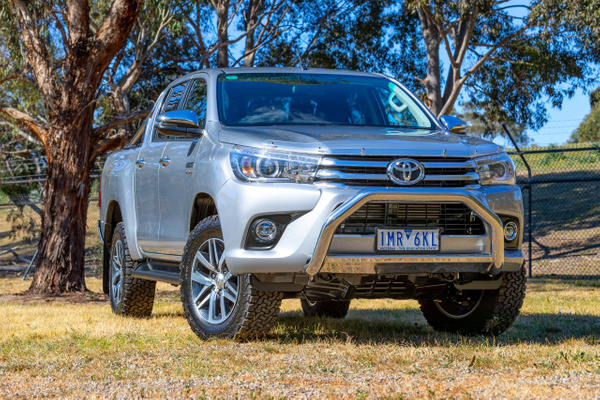 Toyota Hilux Double Cab by John Torcasio