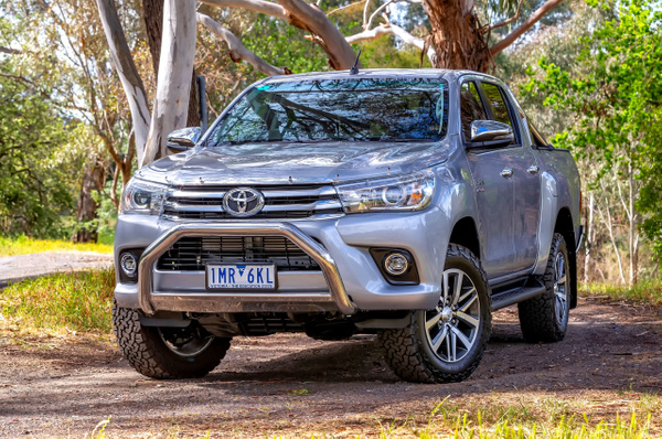 Toyota Hilux: SR5 4WD Dual Cab Ute by John Torcasio
