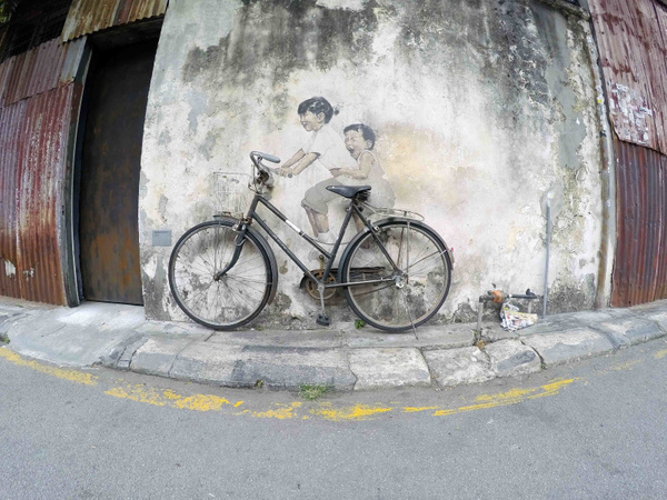 travel-street-art-penang-bycycle by GuyTriponto