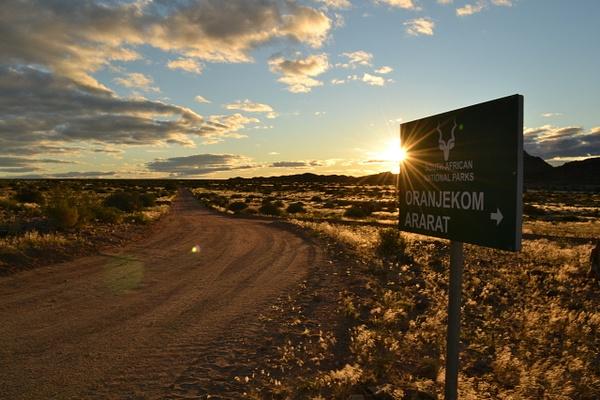 Oranjekom sunset by Rene De Klerk