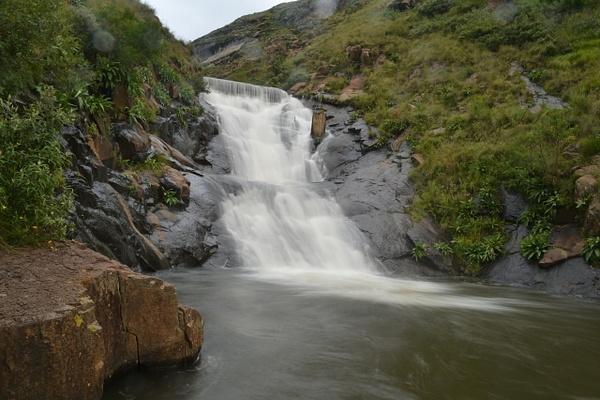 Waterfall by Rene De Klerk