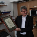 Ft. Veréb László spirituális atya ezüstmiséje a Szemináriumban
