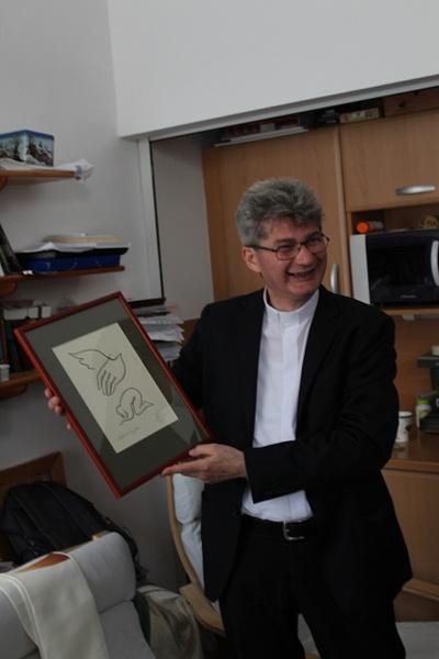 Ft. Veréb László spirituális atya ezüstmiséje a...