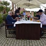 Pünkösdhétfői grill-ebéd a teraszon