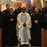 Brendan atya újmiséje a Szemináriumban