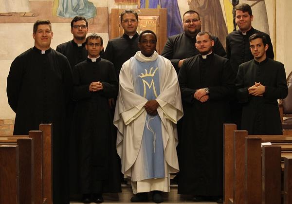 Brendan atya újmiséje a Szemináriumban by Szent...