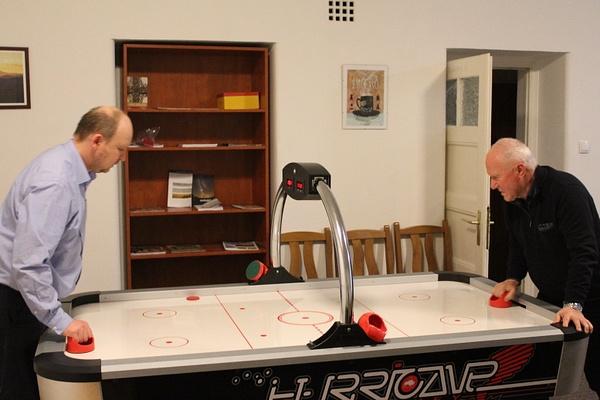 Házi pizza és légkorong bajnokság by Szent Gellért...