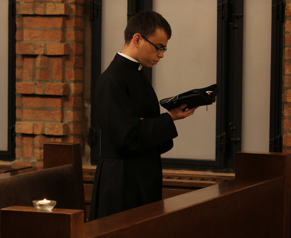 Adventi gyertyagyújtás a Szemináriumban by Szent...