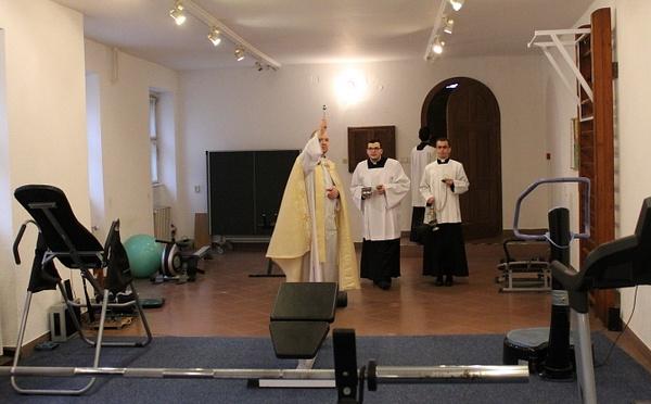 Házszentelés a Szemináriumban by Szent Gellért...