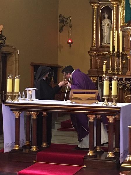 Szent Fausztina ereklye átvétel by Szent Anna...