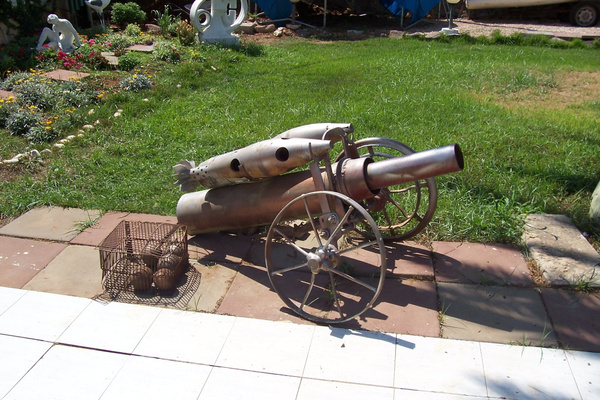 Cannon by Shimon Drory by Shimon Drory