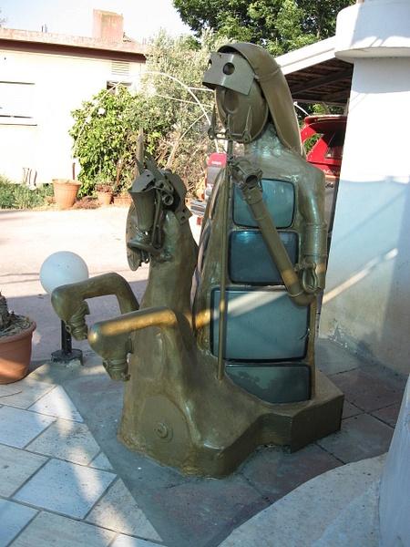 Don Quixote2  by Shimon Drory by Shimon Drory